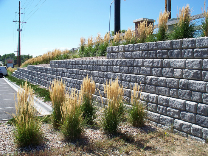 An image of retaining wall in Danville,